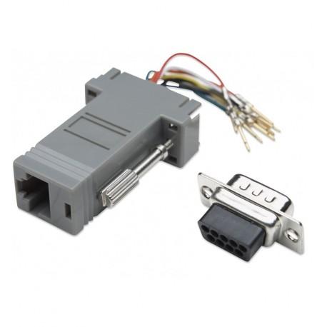 Adattatore Modulare DB 9p. M / RJ45 8 fili IMA 271
