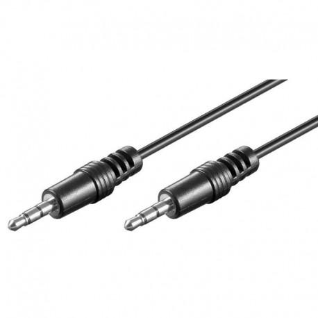 Cavo Audio Stereo Jack 3.5 mm M/M 2.5m ICOC 03-SB-HP