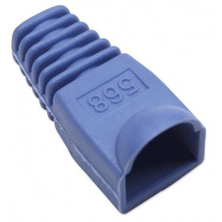 Copriconnettore per Plug RJ45 6.2mm Blu IWP-CBOOT-BL