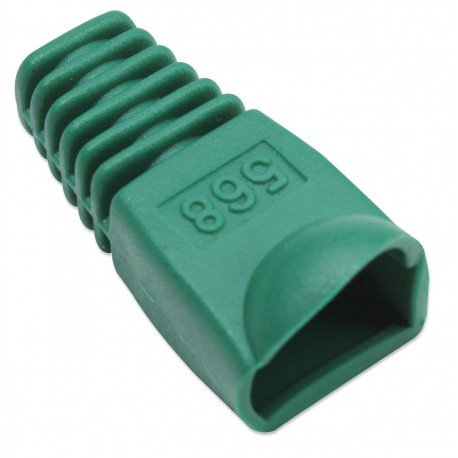 Copriconnettore per Plug RJ45 6.2mm Verde IWP-CBOOT-VE