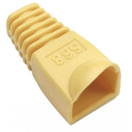 Copriconnettore per Plug RJ45 6.2mm Giallo IWP-CBOOT-YE