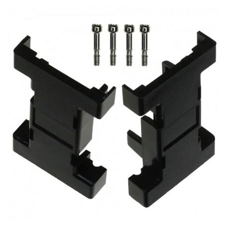Calotta per D-Sub 9 / 9 poli in plastica IGPE 09-PL-BL