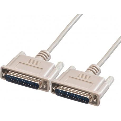 Cavo Seriali/Paralleli M/M D-Sub 25p. Cavo prol. 25p. M/M 3 m ICOC 033-SC-MO