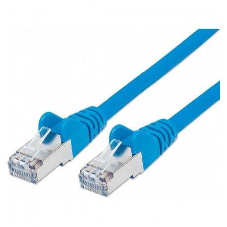 Cavo di rete Patch in Rame Schermato Cat. 5e Blu FTP 5 mt ICOC F5E-050-BL