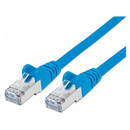 Cavo di rete Patch in Rame Schermato Cat. 5e Blu FTP 15 mt ICOC F5E-150-BL