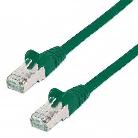 Cavo di rete Patch in Rame Schermato Cat. 5e Verde FTP 3 mt ICOC F5E-030-GREE