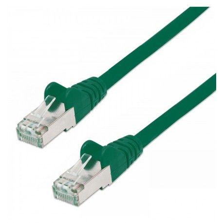 Cavo di rete Patch in Rame Schermato Cat. 5e Verde FTP 5 mt ICOC F5E-050-GREE