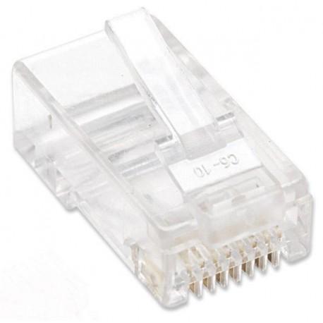 Plug Modulari RJ45 Cat5E per Cavo Flessibile UTP IWP-8P8C-R5