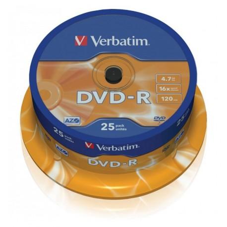 Campana 25 DVD-R Matt Silver 4.7GB ICA-DVD-MENO25