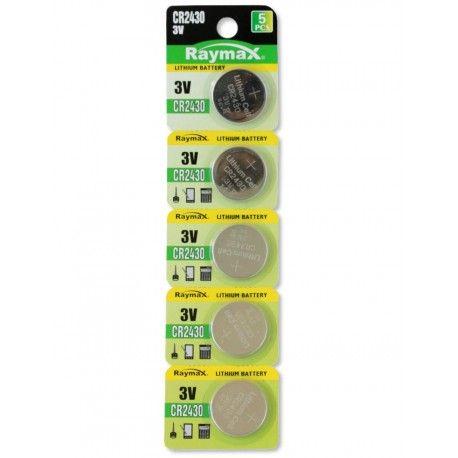 Batterie a bottone Litio CR2430 (set 5 pz) IBT-KCR2430