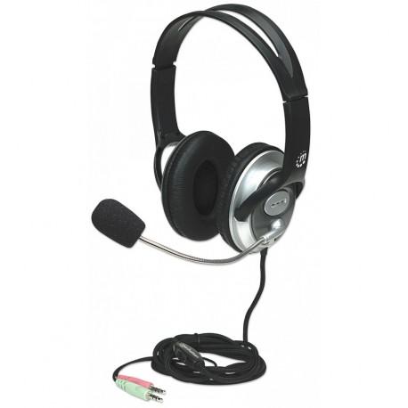 Cuffia Stereo Classica con Microfono ICC SH-555