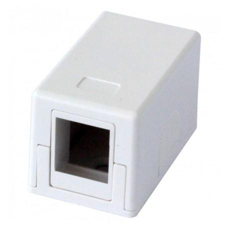 Presa a Muro per 1 Frutto Keystone Bianco IWP-MD SC-1