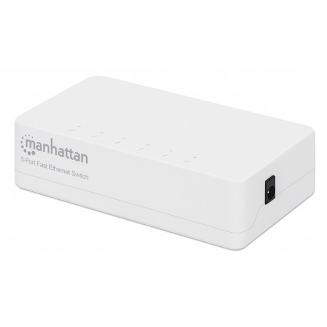 Switch Hub Office 10/100 Mbps Fast Ethernet 5 Porte I-SWHUB-050S