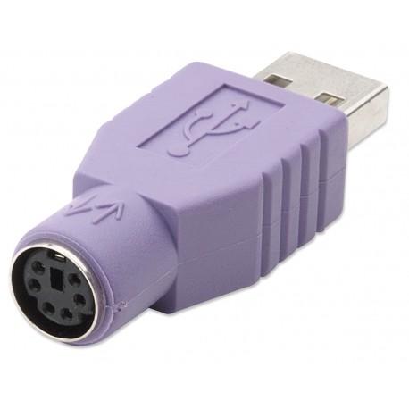 Adattatore PS2 femmina/USB A maschio IADAP USB-918