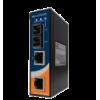Convertitore Industriale Fast Ethernet a fibra ottica su guida DIN I-SWHUB IND-143