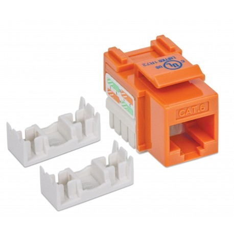 Frutto Keystone RJ45 Cat.6 UTP non schermato Arancione IWP-MD C6/OR