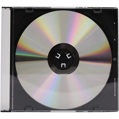 Porta CD Slim Jewel Case Nero ICA-CD 01-BK