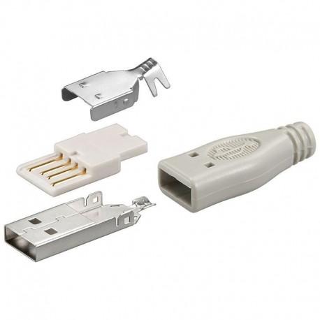 Connettore USB a saldare A Maschio IADAP USB-025