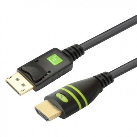 Cavo Convertitore da DisplayPort a HDMI 1 m ICOC DSP-H-010