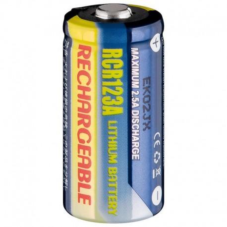 Batteria al Litio Ricaricabile CR123A 500 mAh IBT-KLT-123A
