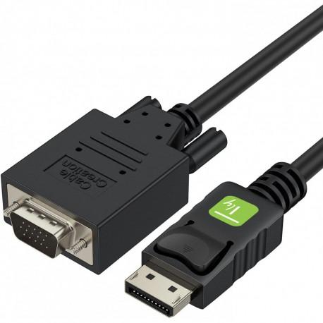 Cavo Monitor da DisplayPort a VGA 3 m ICOC DSP-V-030