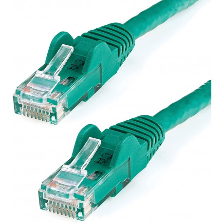 Cavo di rete Patch CCA Cat. 5e Verde UTP 1 mt ICOC CCA5U-010-GREE