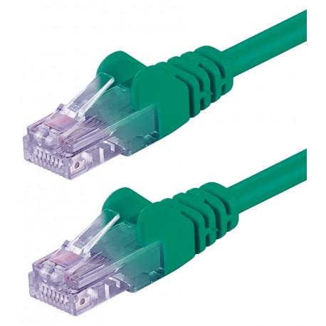 Cavo di rete Patch CCA Cat. 5e Verde UTP 2 mt ICOC CCA5U-020-GREE