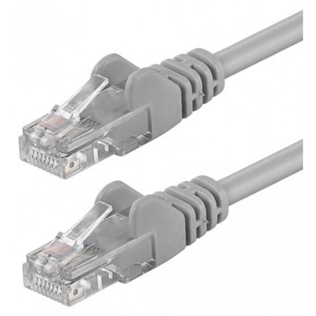 Cavo di rete Patch in CCA Cat. 6 Grigio UTP 1 mt ICOC CCA6U-010