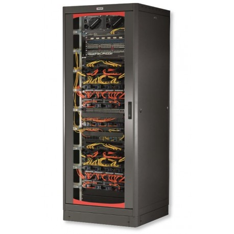 Armadio Rack 19'' 600x600 33 Unita' Nero I-CASE EP-3360BKT