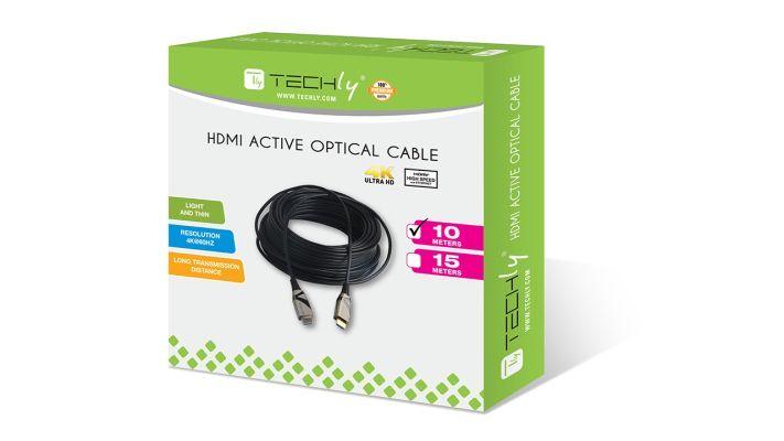 Cavo HDMI 2.0 4K Ultra HD Attivo in Fibra Ottica